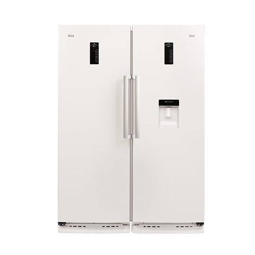 یخچال فریزر دو قلو(موتور اینورتر)-یخساز اتوماتیک